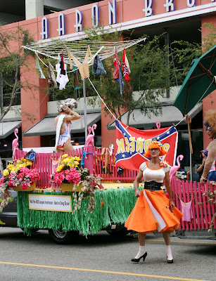 Aid for Aids float at West Hollywood Gay Pride Parade 2009