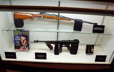 Public Enemies movie props on display