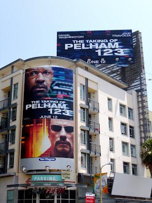taking of Pelham 123 movie billboard