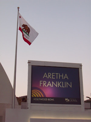 Aretha Franklin Hollywood Bowl concert