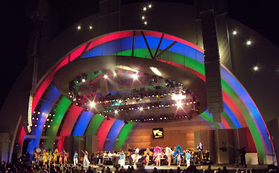 Aretha Franklin Hollywood Bowl Madris Gras finale