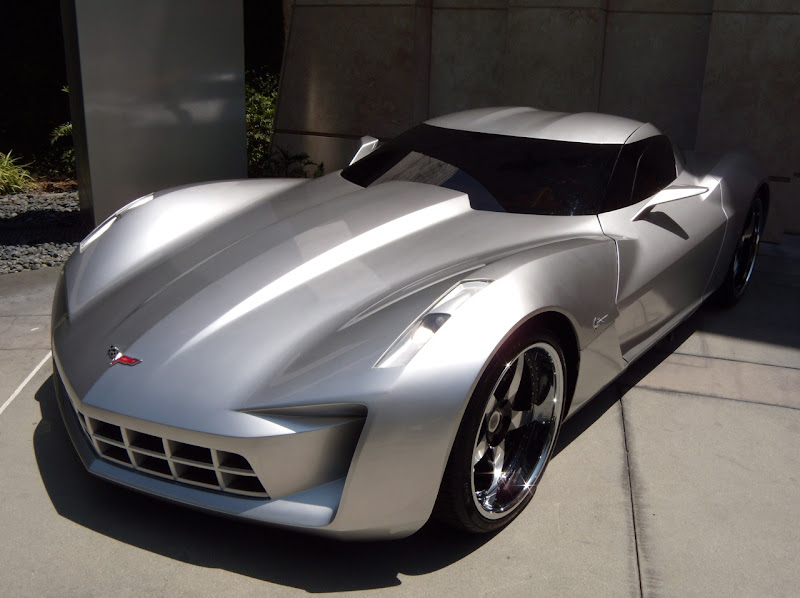 New Autobot Sideswipe Corvette Stingray concept car