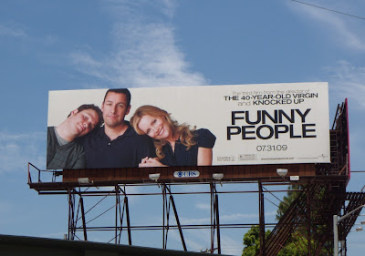 Funny People movie billboard