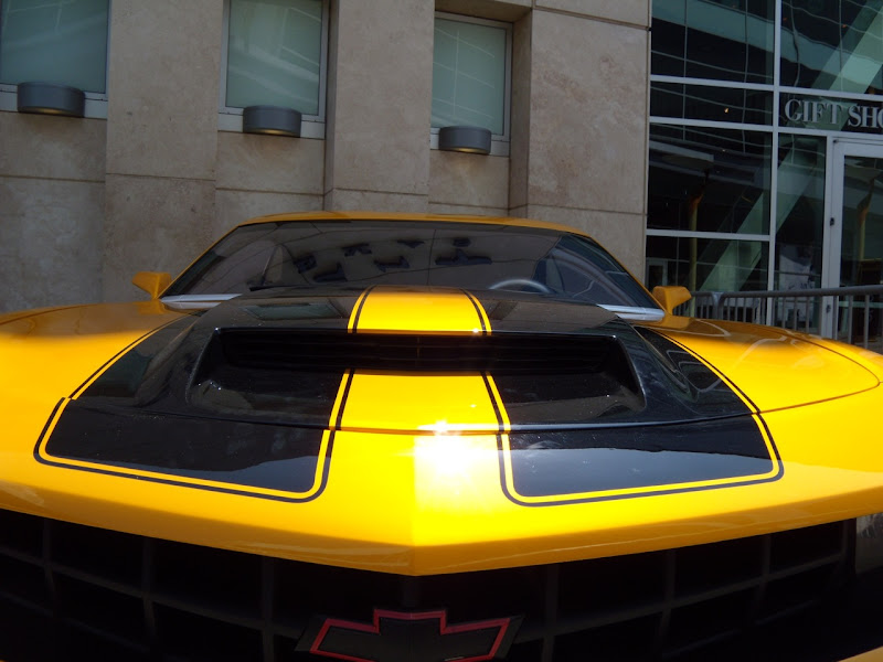 Transformers 2 Autobot Bumblebee Camaro hood