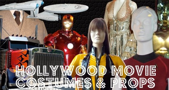 Hollywood Movie Costumes and Props
