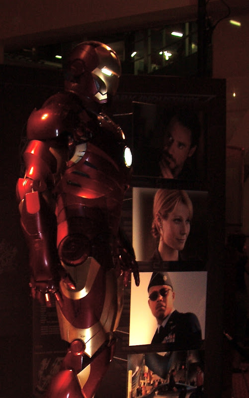 Iron Man suit side-view