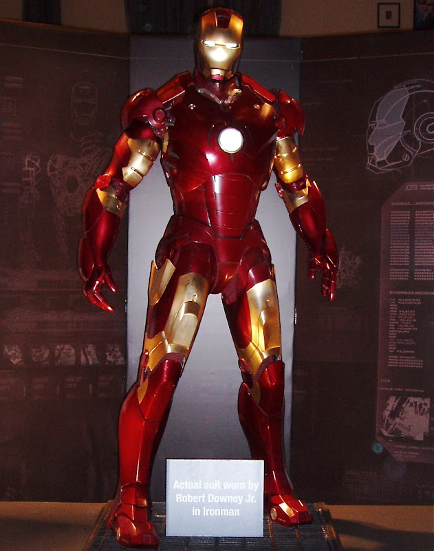 Original Iron Man suit movie costume
