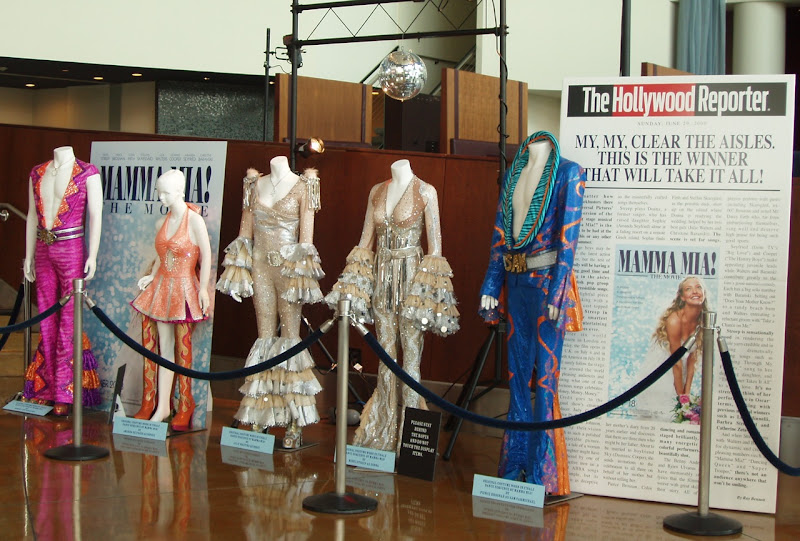 Dance finale cast costumes Mamma Mia The Movie