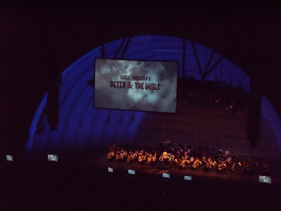 Hollywood Bowl Prokofiev Peter and the Wolf animated short