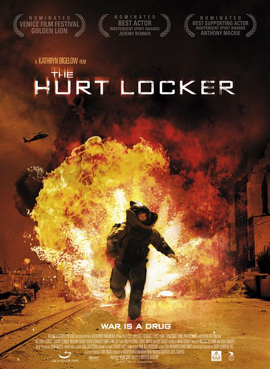 The Hurt Locker film poster