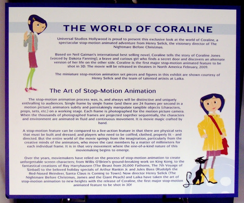 The World of Coraline info