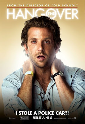 The Hangover Bradley Cooper movie poster