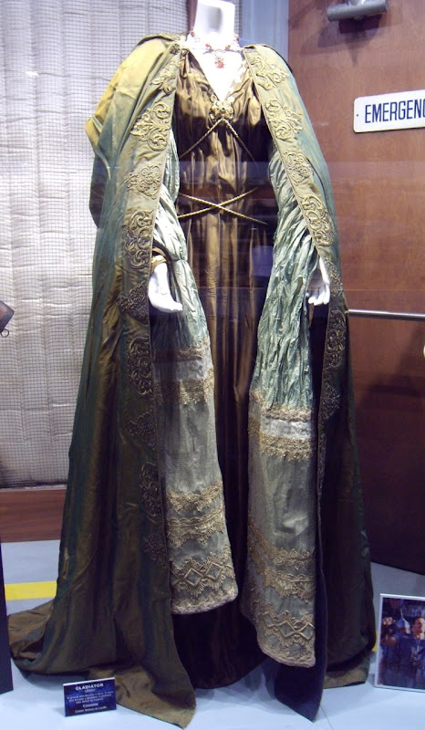 Connie Nielson's Lucilla costume in Gladiator
