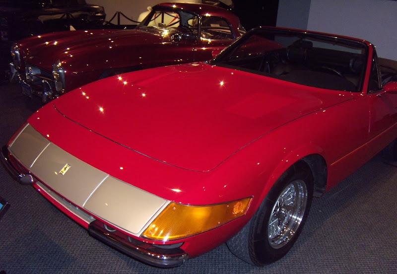 Raul Julia's Ferrari Daytona Spyder Gumball Rally movie car