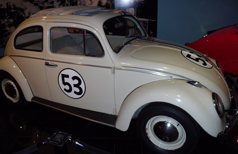 Herbie Love Bug Volkswagen Beetle TV movie car