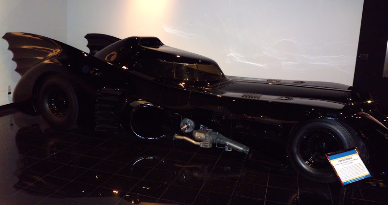 Batman and Batman Returns Batmobile
