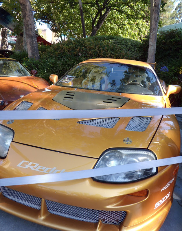 2 Fast 2 Furious 1993 Toyota Supra movie car