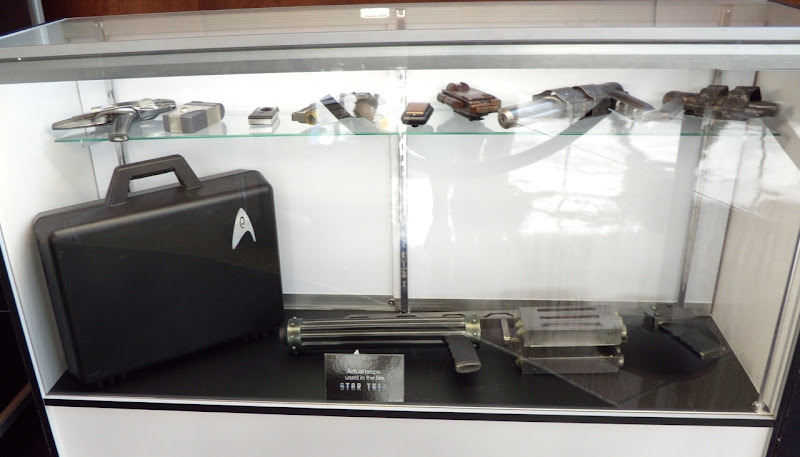 Actual Star Trek movie props