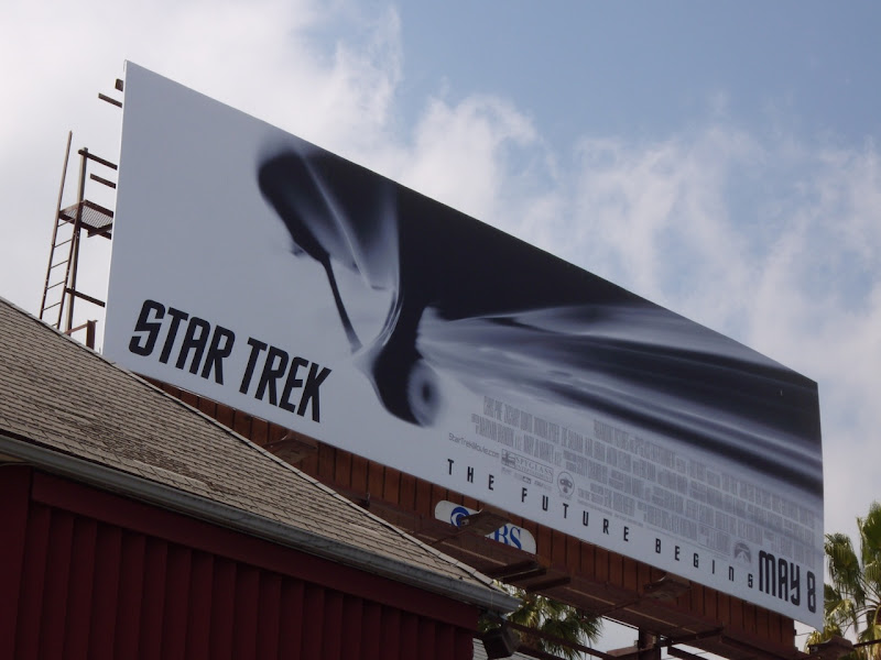 Star Trek movie billboard
