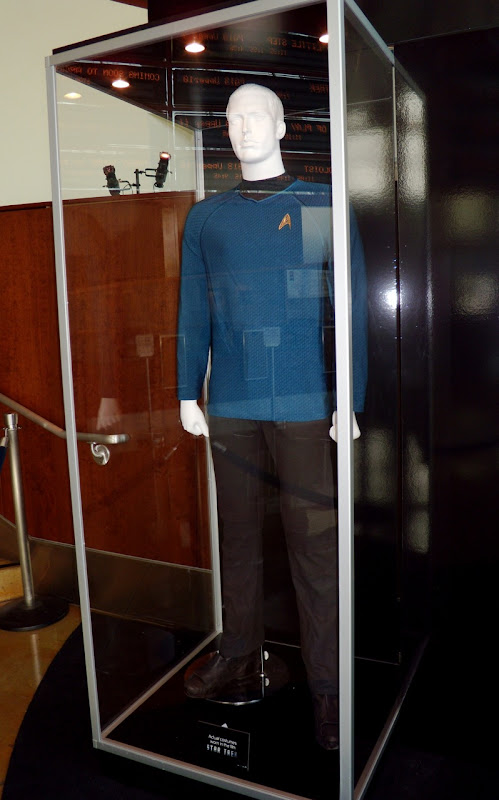 Blue Starfleet uniform Star Trek film costume