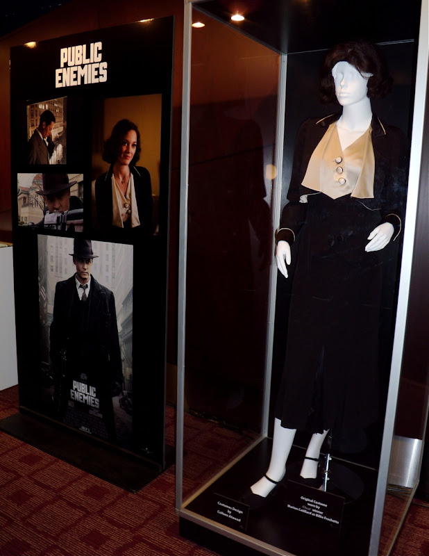 Public Enemies Billie Frechette 1930s film costume