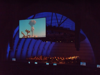Koyaanisqatsi movie at The Hollywood Bowl