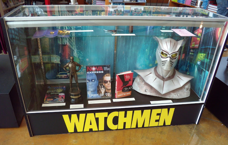 Actual Watchmen movie props