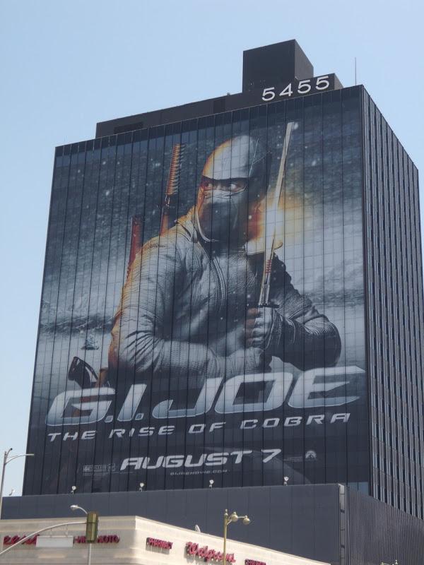 GI Joe movie billboard