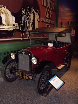 1929 Austin Seven Chummy car