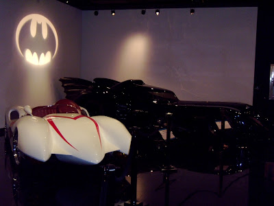 Speed Racer and Batmobile movie cars