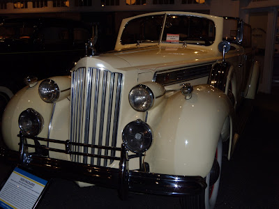 1939 Packard at The Petersen Auto Museum