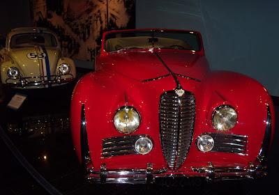 Elton John's former 1949 Delahaye drophead coupe