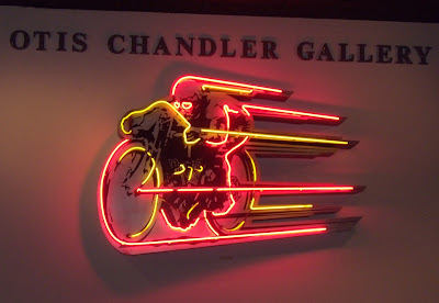 Otis Chandler Motorcycle Gallery at Petersen Museum