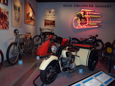 Otis Chandler Motorcycle Gallery