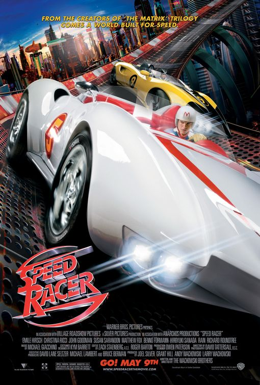 Speed Racer film poster