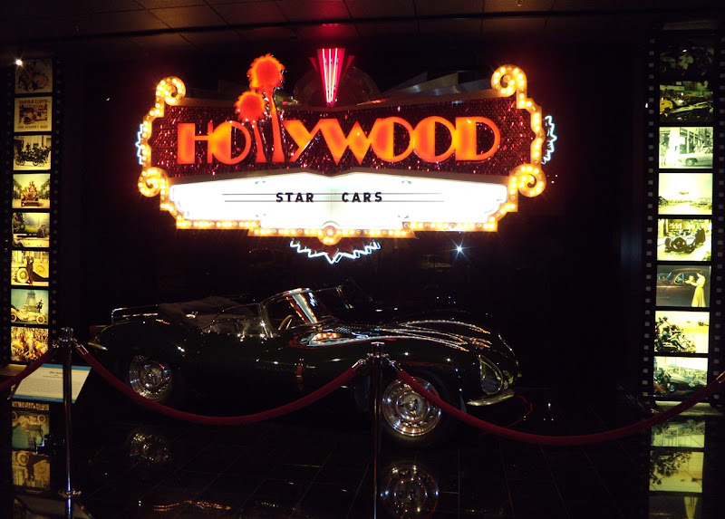 Petersen Automotive Museum Hollywood star cars