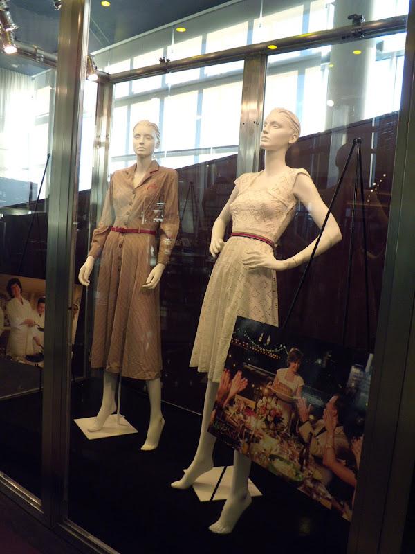 Original Julie & Julia movie costume display