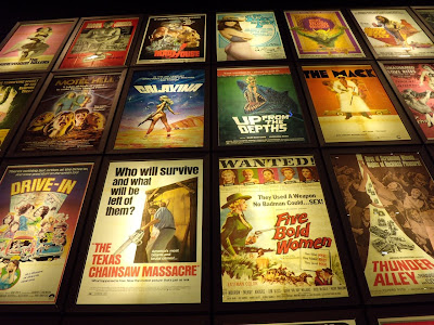 Pulp movie poster wall