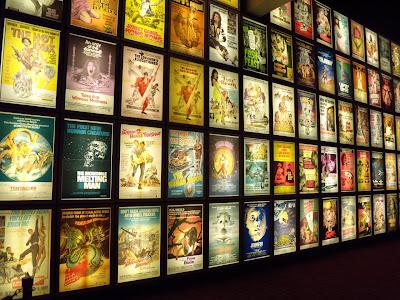 Pulp film poster wall at ArcLight Sherman Oaks