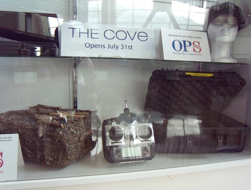 Hidden cameras used in The Cove documentary film