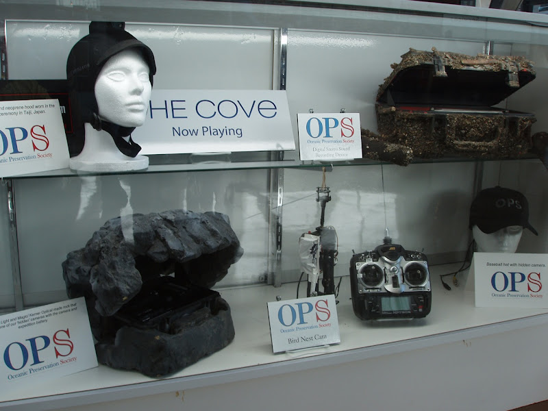 The Cove documentary's covert cameras