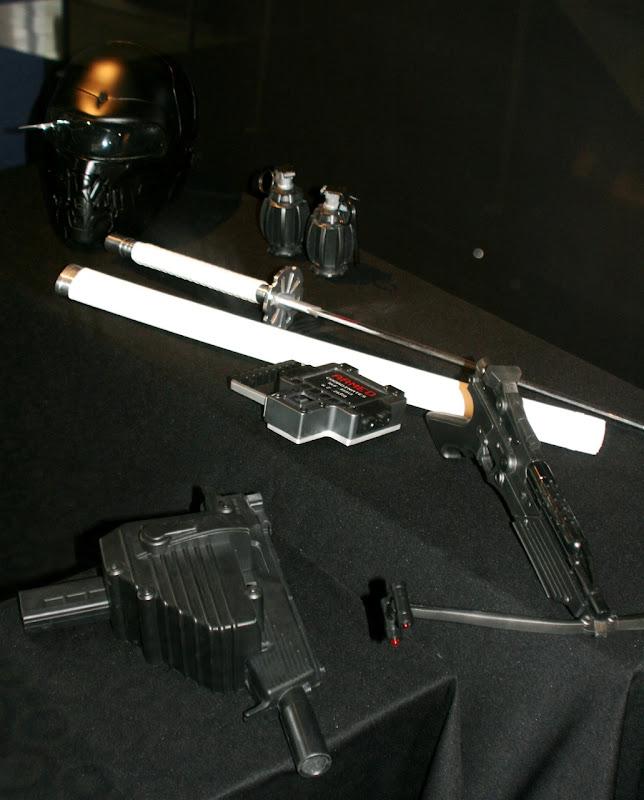 GI Joe movie weapons props