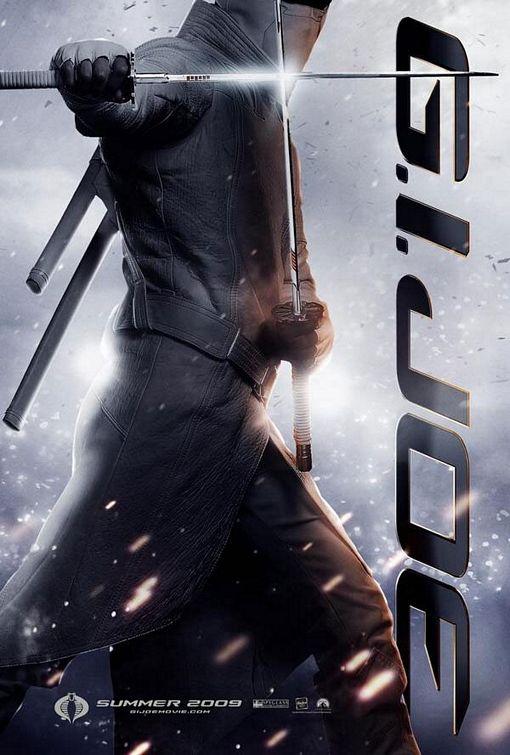 GI Joe Storm Shadow movie poster