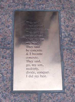 Philp Levine Corportae Head poem