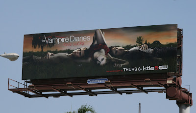 Vampire Diaries TV billboard