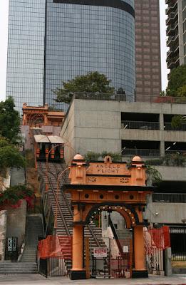 Angels Flight railway in Downtown Los Angeles
