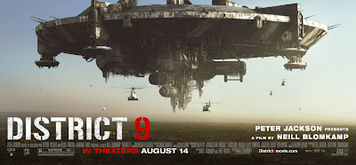 District 9 spaceship poster