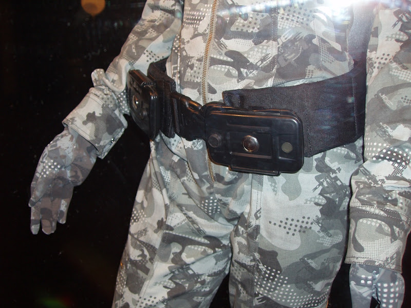 Female GI Joe Agent utility belt movie costume
