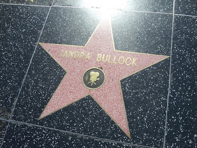 Sandra Bullock Hollywood Walk of Fame Star