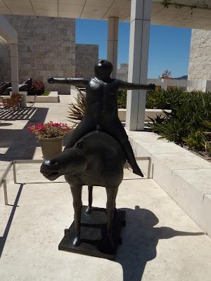 Angel of the Citadel sculpture